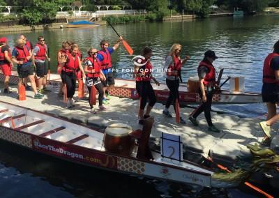 Dragon Boat Access Floating Pontoon Platform