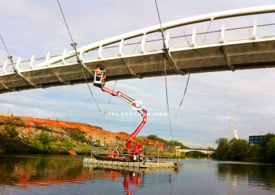 Floating MEWP Access Pontoon Platform Hire