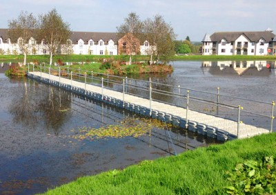 Floating Modular Pontoon Walkway Hire