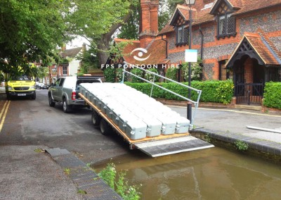 FPS Floating Pontoon Delivery