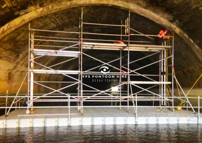 Floating Scaffolding Platforms Pontoon Hire