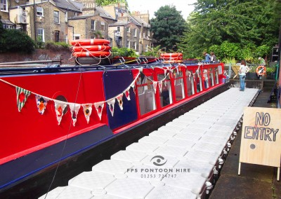 Floating Temporary Jetty Hire for Public and Private Events