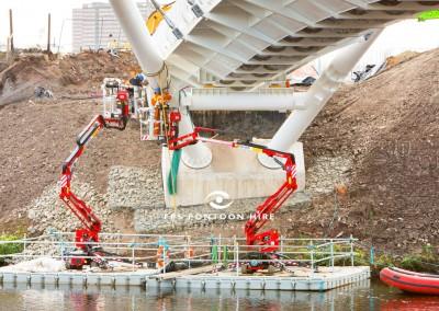 Floating Bridge Pontoon by Floating Pontoon Solutions