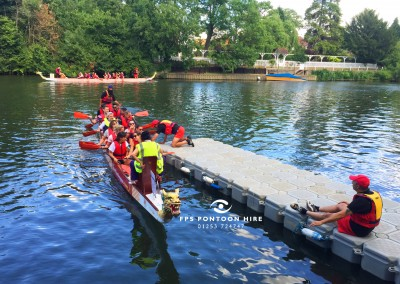 Temporary Jetty Pontoon Hire For Dragon Boat Events