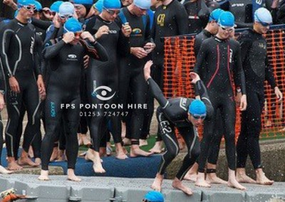 Triathlon Event Floating Platform Pontoon