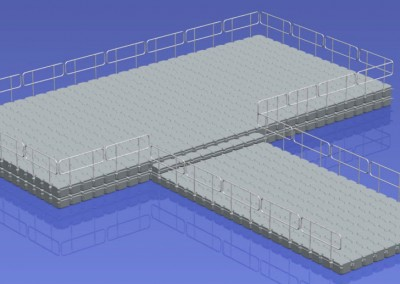 15.5m x 8m Floating Platform (DS)2