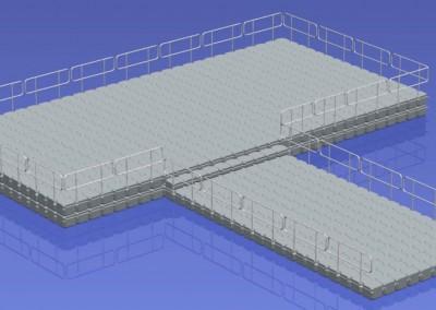 15.5m x 8m Floating Platform (DS)2