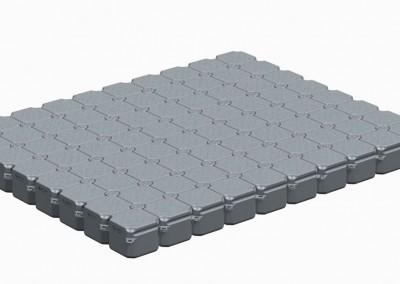 5m x 4m Floating Platform