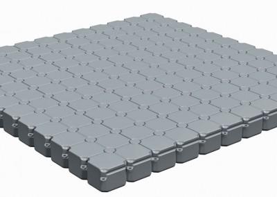 6m x 6m Floating Pontoon Platform