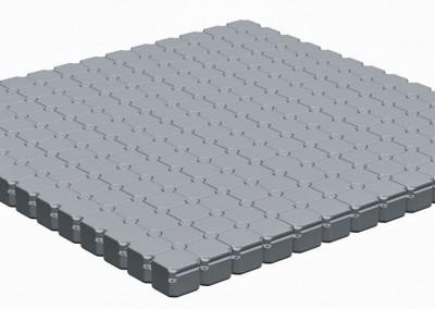 7m x 7m Floating Pontoon Platform