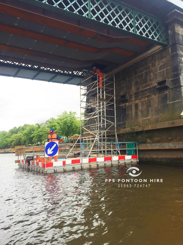 Floating Pontoon Amp Work Platforms Keeping You Safe