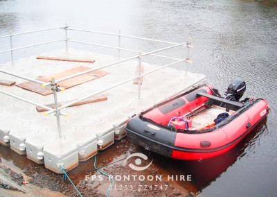 Work Boat Hire by Floating Pontoon Solutions