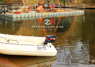 Work Boats For Hire by Floating Pontoon Solutions