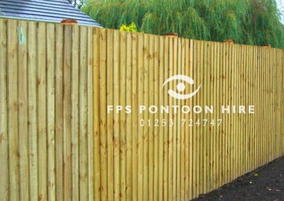Fencing by Experienced Contractors Floating Pontoon Solutions