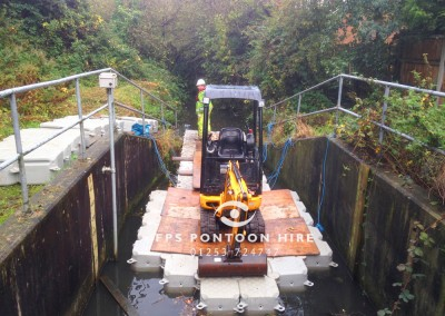 Clearance Watercourse Maintenance Floating Pontoons