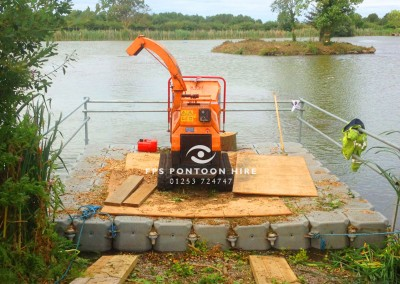 Watercourse Maintenance by Floating Pontoon Solutions