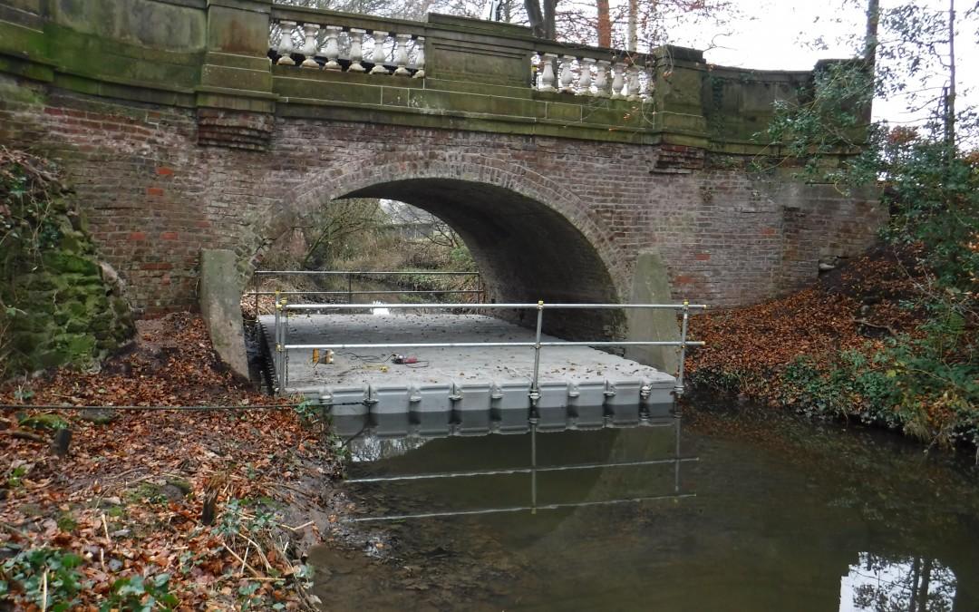 Historic Bridge Repairs In leafy Cheshire