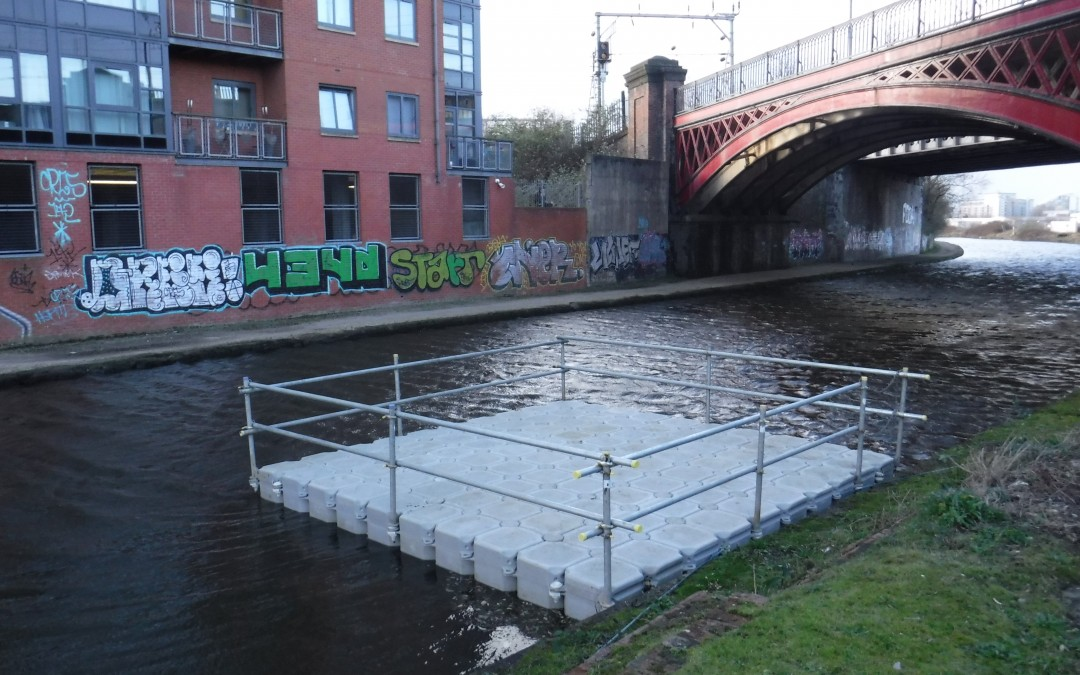 Floating Pontoon Solutions start the New Year in Manchester
