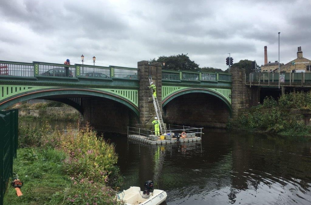 Purpose-built pontoon comes to the rescue for SSE Contracting