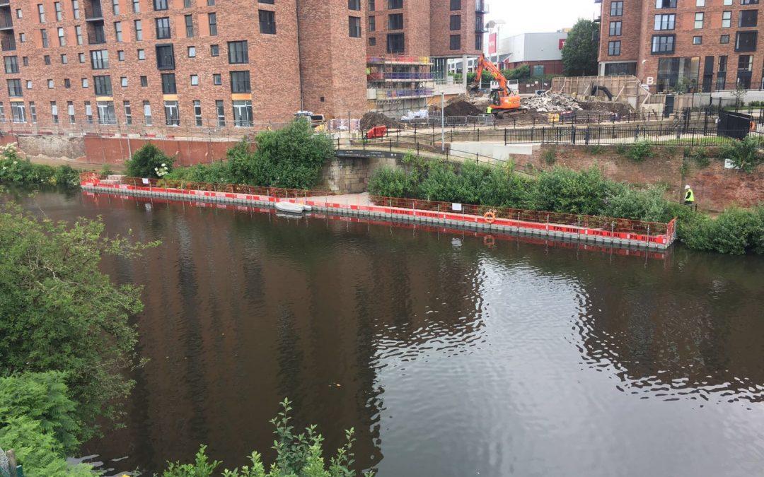 Manchester Ship Canal de-vegetation works