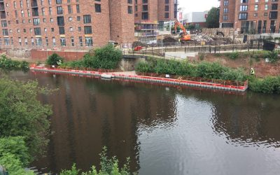 Manchester Ship Canal de-vegetation works