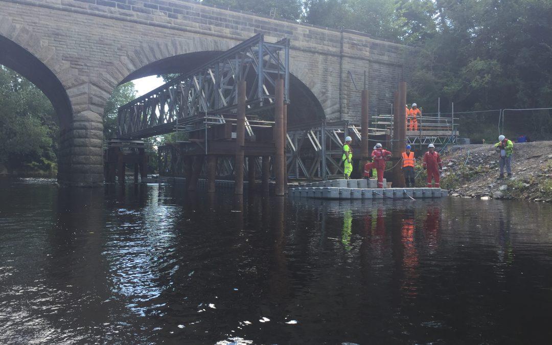 Linton Bridge Stabilisation Works