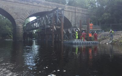 Linton Bridge Stabilisation Works