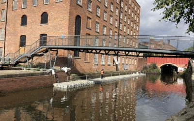 Damp-Proofing Works At Brownsfield Mill