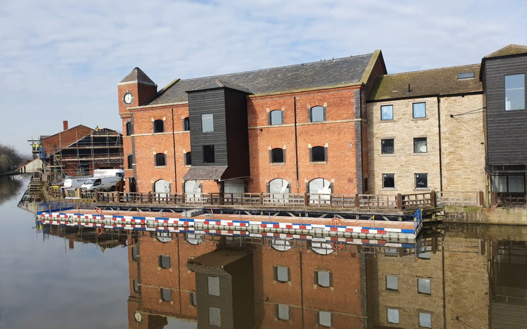The Orwell at Wigan Pier.