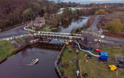 Floating Pontoon Hire For Canal Network