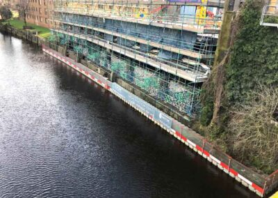 Crash Deck Pontoon Hire Scaffolding Erection