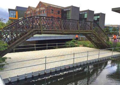 Fall Protection Bridge Removal Pontoon Hire