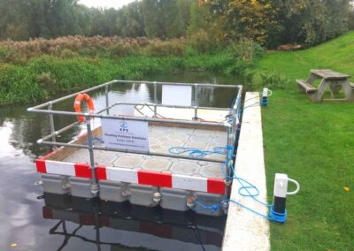 Floating Bridge Pontoon by Floating Pontoon Solutions