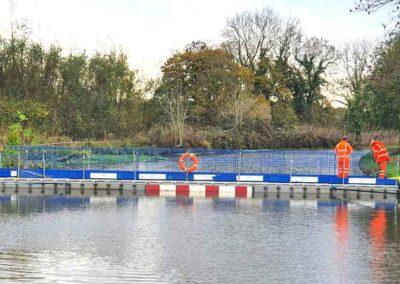 Floating Canal Bridge Hire