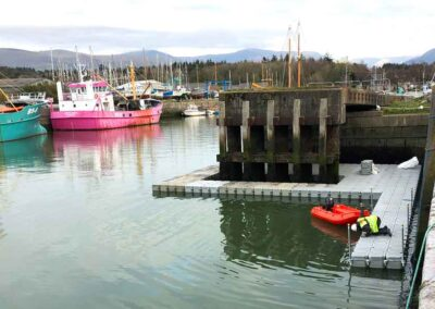Floating Pontoon Hire For Harbour Maintainance