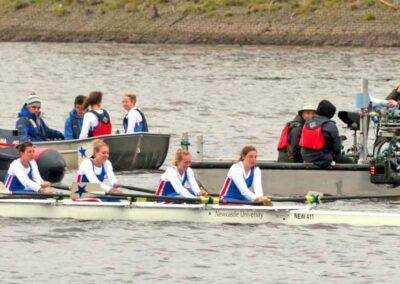 ITV TV Programme VERA Floating Pontoon Camera Boat