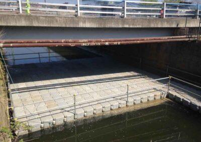 Pontoon Hire For Road Bridge Concrete Repairs Bridge Maintenance