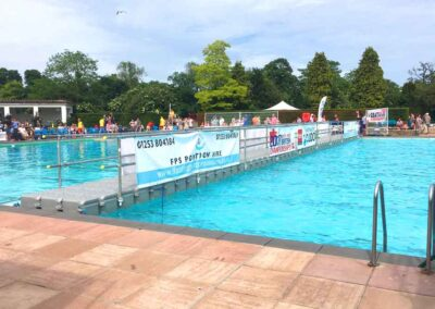 Pontoon For Water Polo British Championship Event