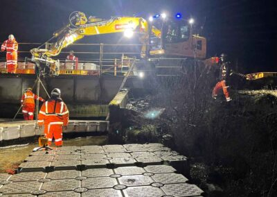 Railway Bridge Pontoon Repairs