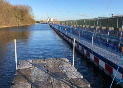 Temporary Canal Tow Path Pontoon